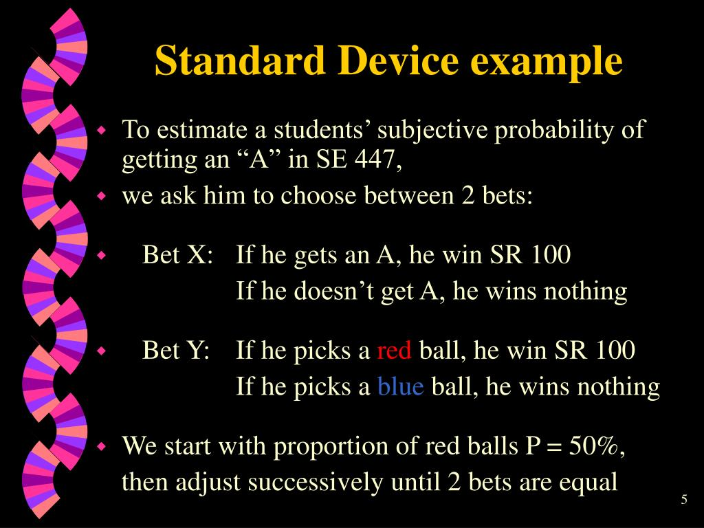 Standard Device example