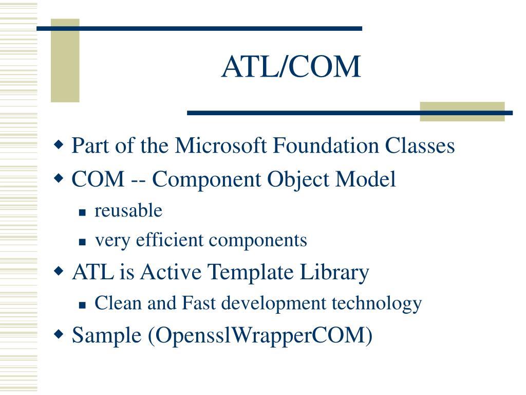 ATL/COM