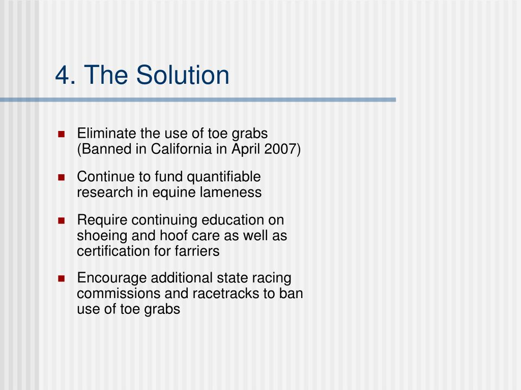 4. The Solution
