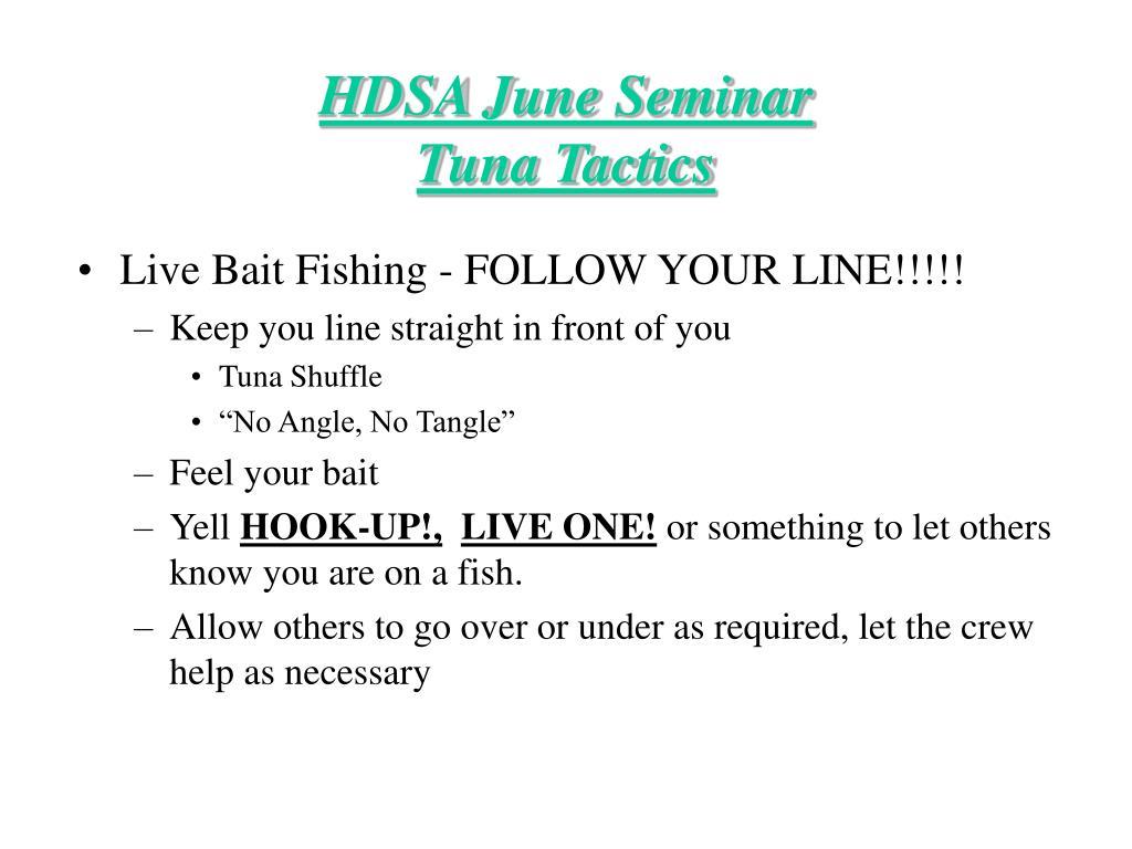 Live Bait Fishing - FOLLOW YOUR LINE!!!!!