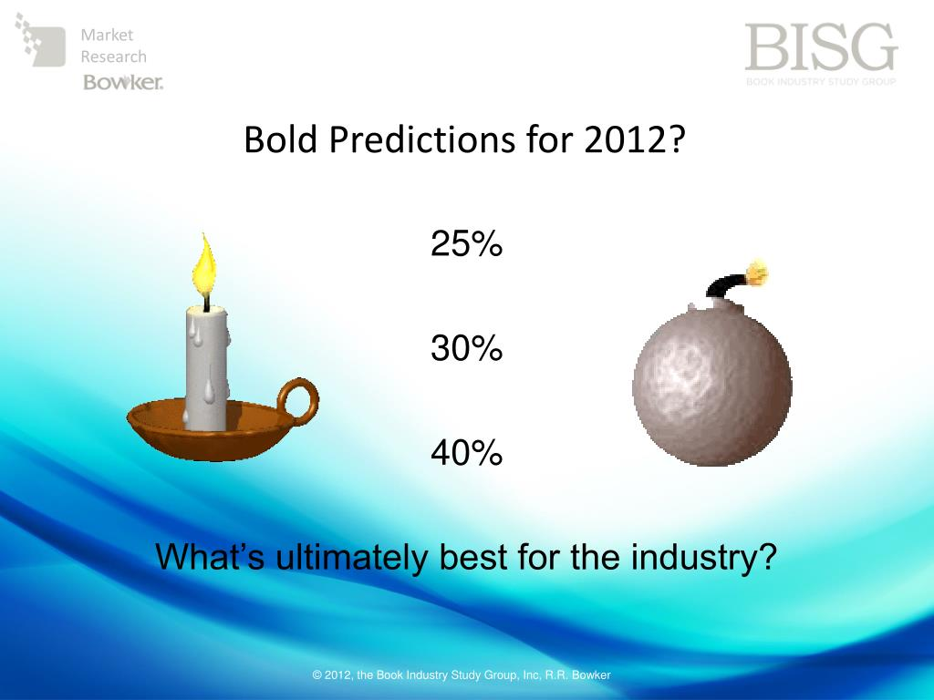 Bold Predictions for 2012?