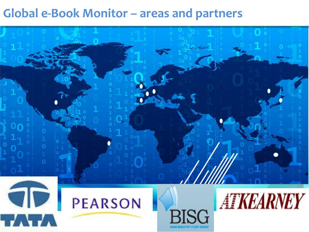Global e-Book Monitor – areas and partners