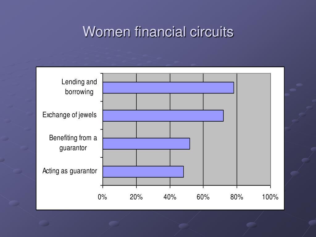 Women financial circuits