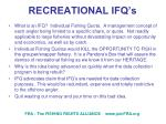 recreational ifq s