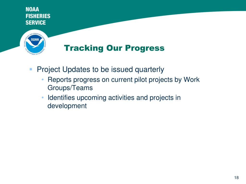 Tracking Our Progress