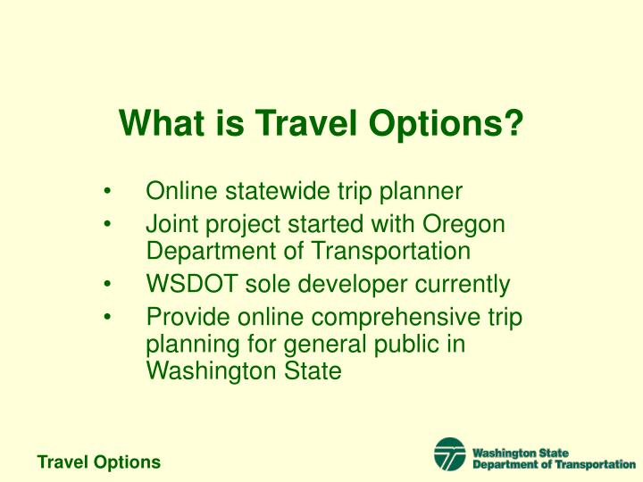 Travel options2