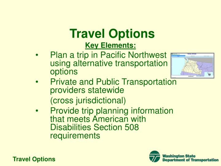 Travel options3