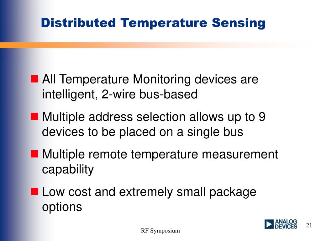 Distributed Temperature Sensing