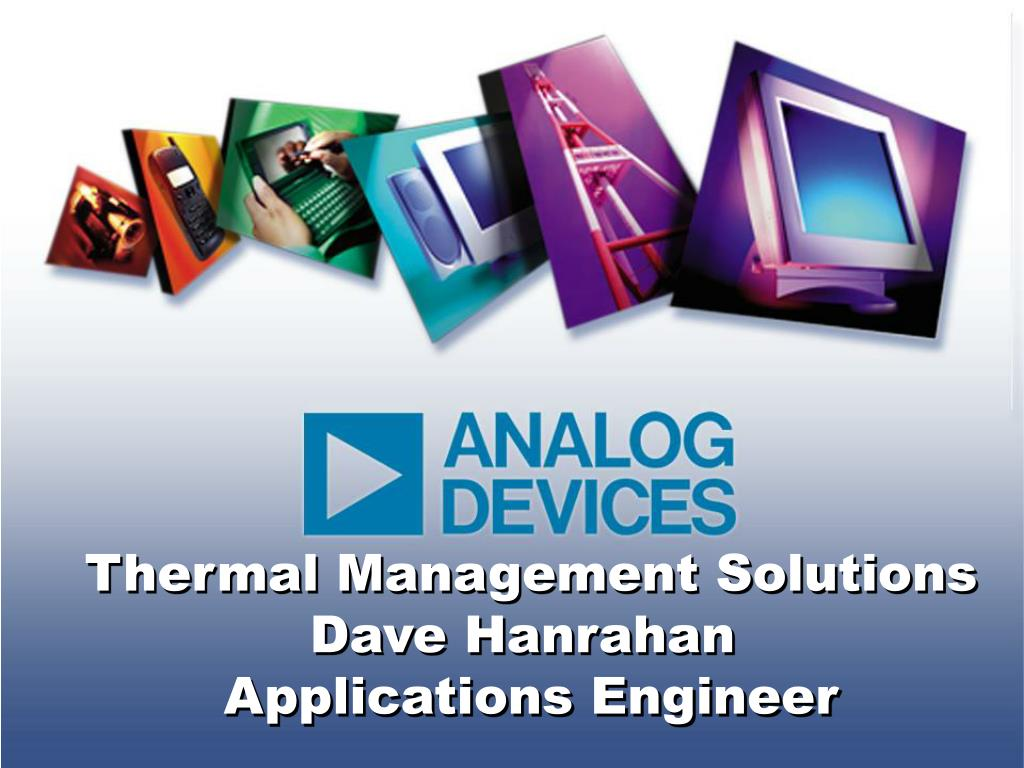 Thermal Management Solutions