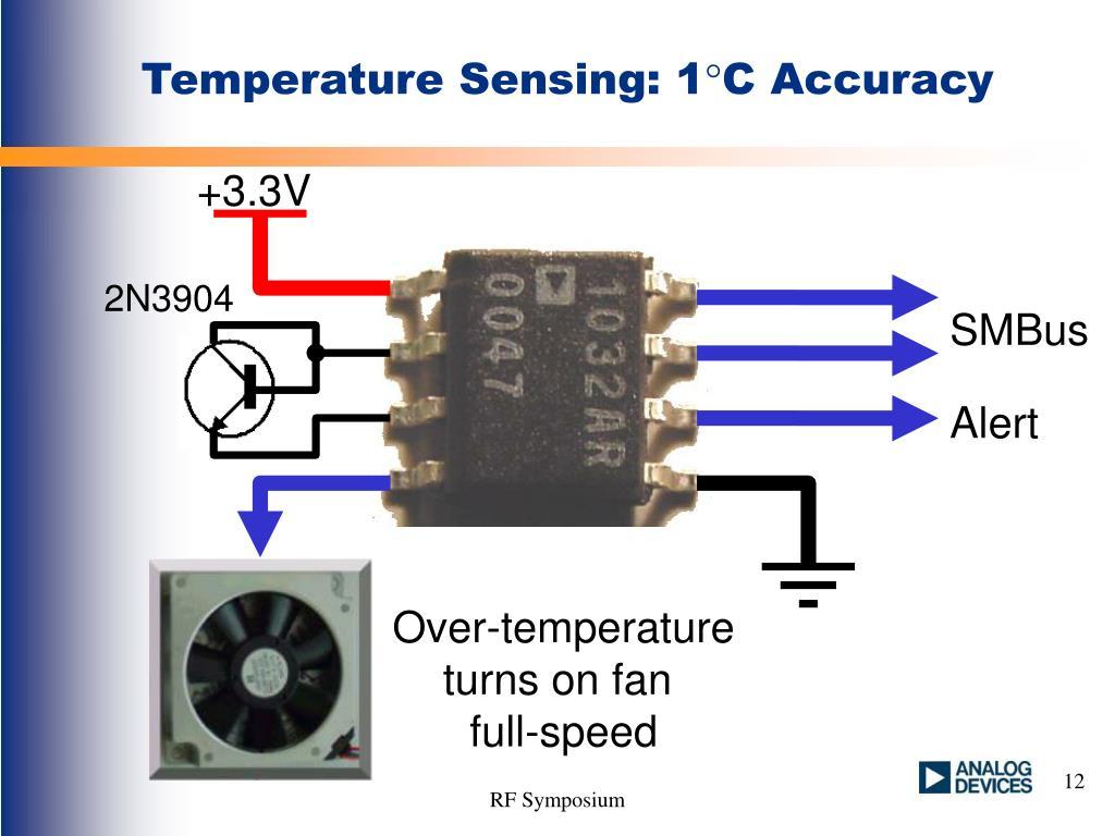 Temperature Sensing: 1
