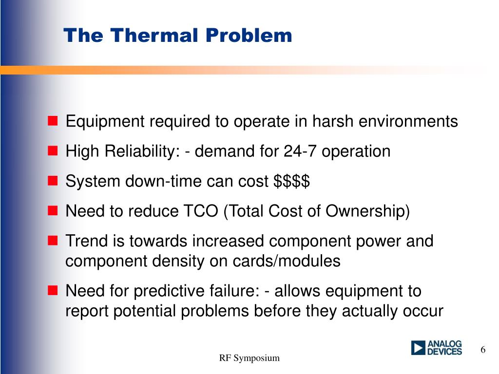 The Thermal Problem