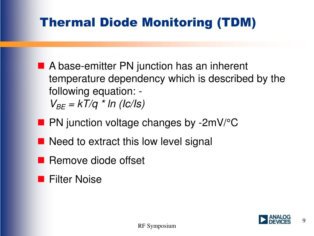 Thermal Diode Monitoring (TDM)