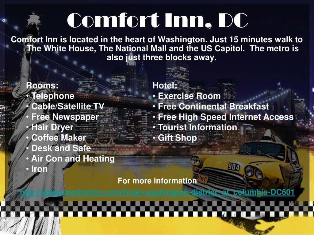 Comfort Inn, DC
