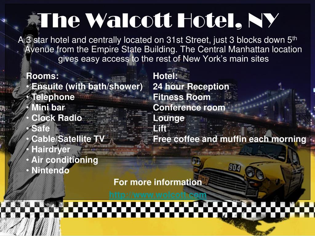 The Walcott Hotel, NY