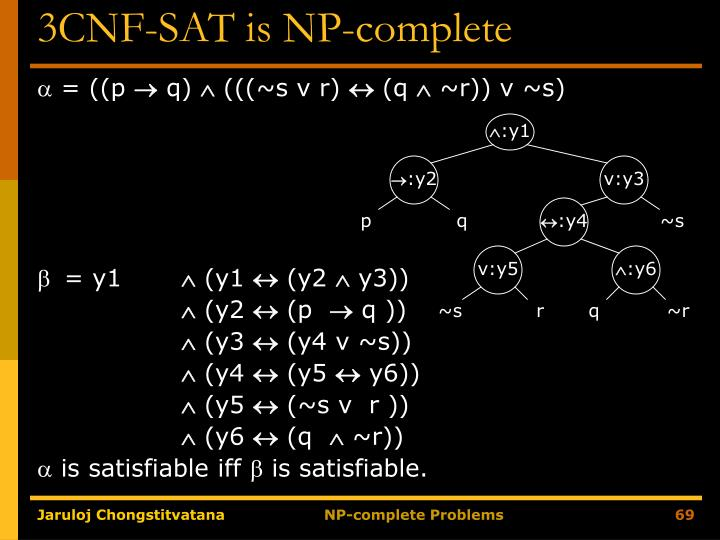 3CNF-SAT is NP-complete