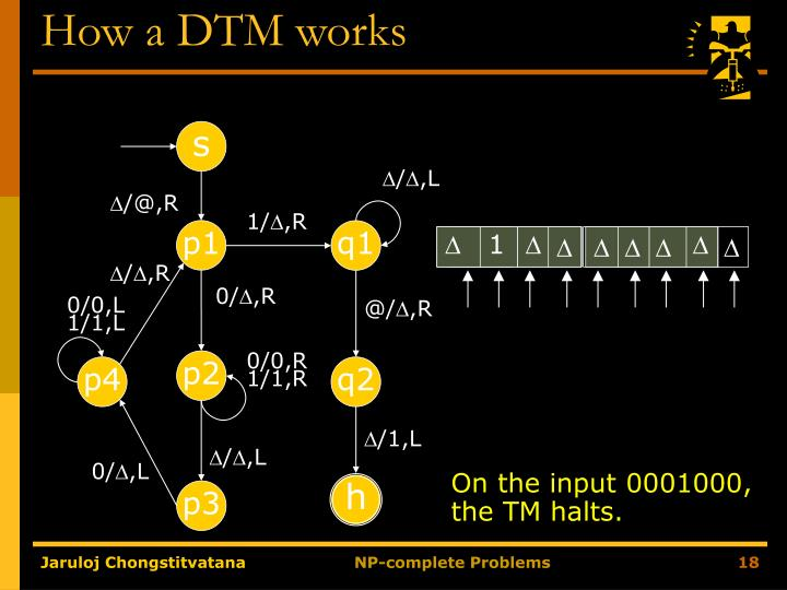 How a DTM works