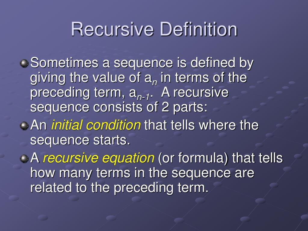 Recursion (computer science)