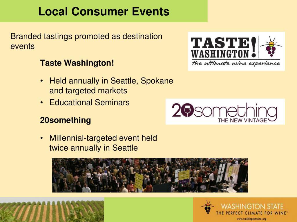 Local Consumer Events
