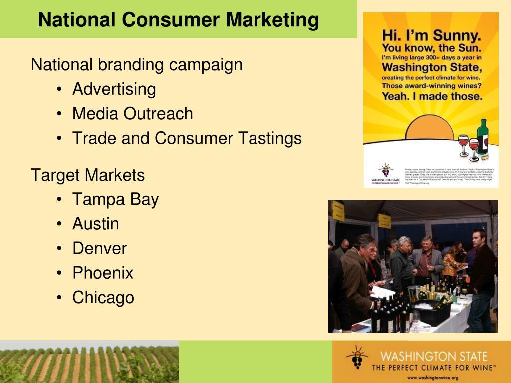 National Consumer Marketing