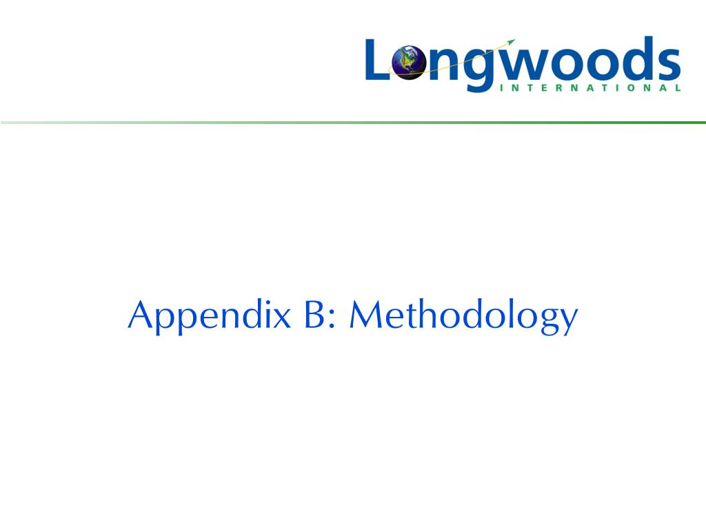 Appendix B: Methodology