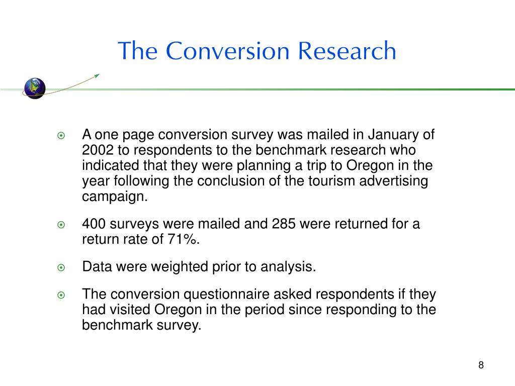 The Conversion Research