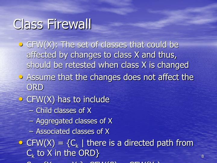 Class Firewall