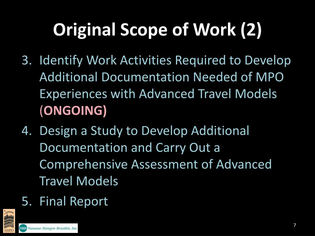Original Scope of Work (2)