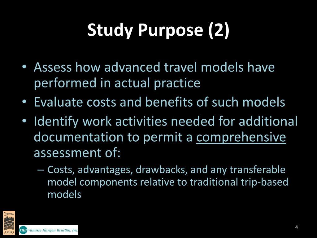 Study Purpose (2)