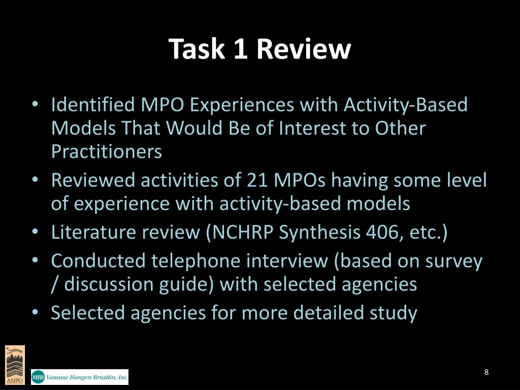 Task 1 Review