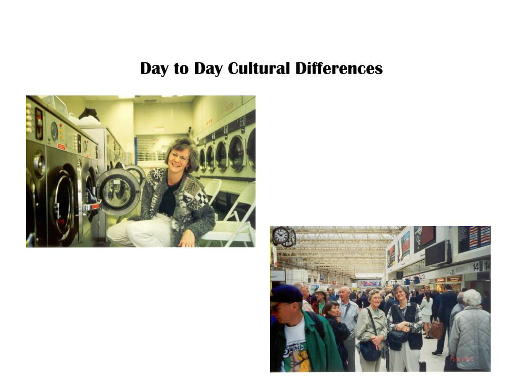 Day to Day Cultural Differences