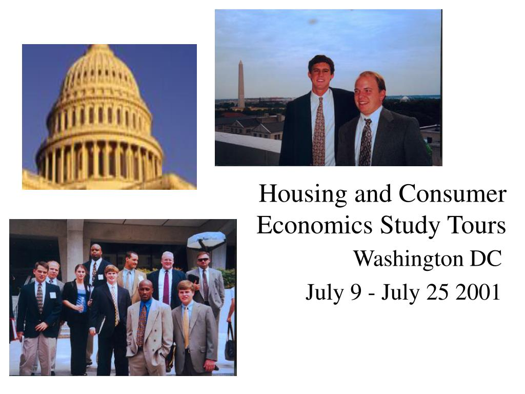 housing and consumer economics study tours