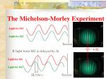 the michelson morley experiment17