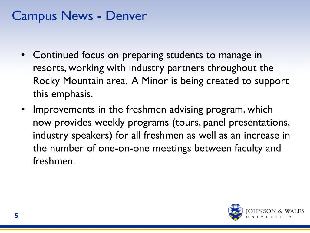 Campus News - Denver
