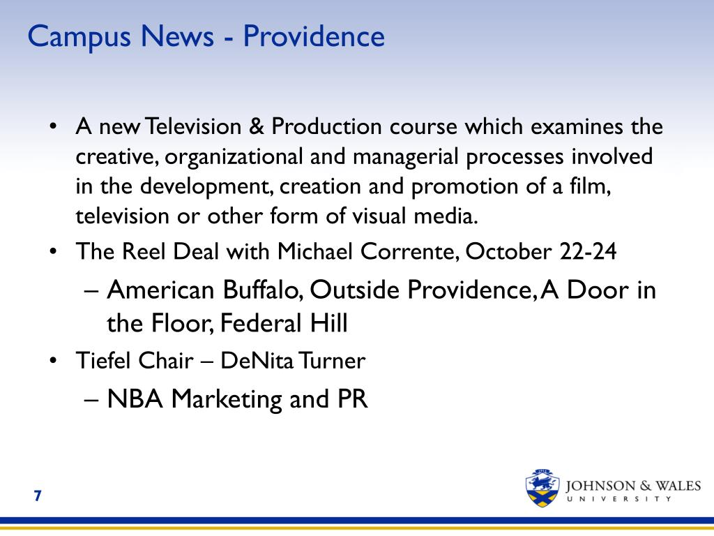 Campus News - Providence