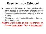 easements by estoppel15