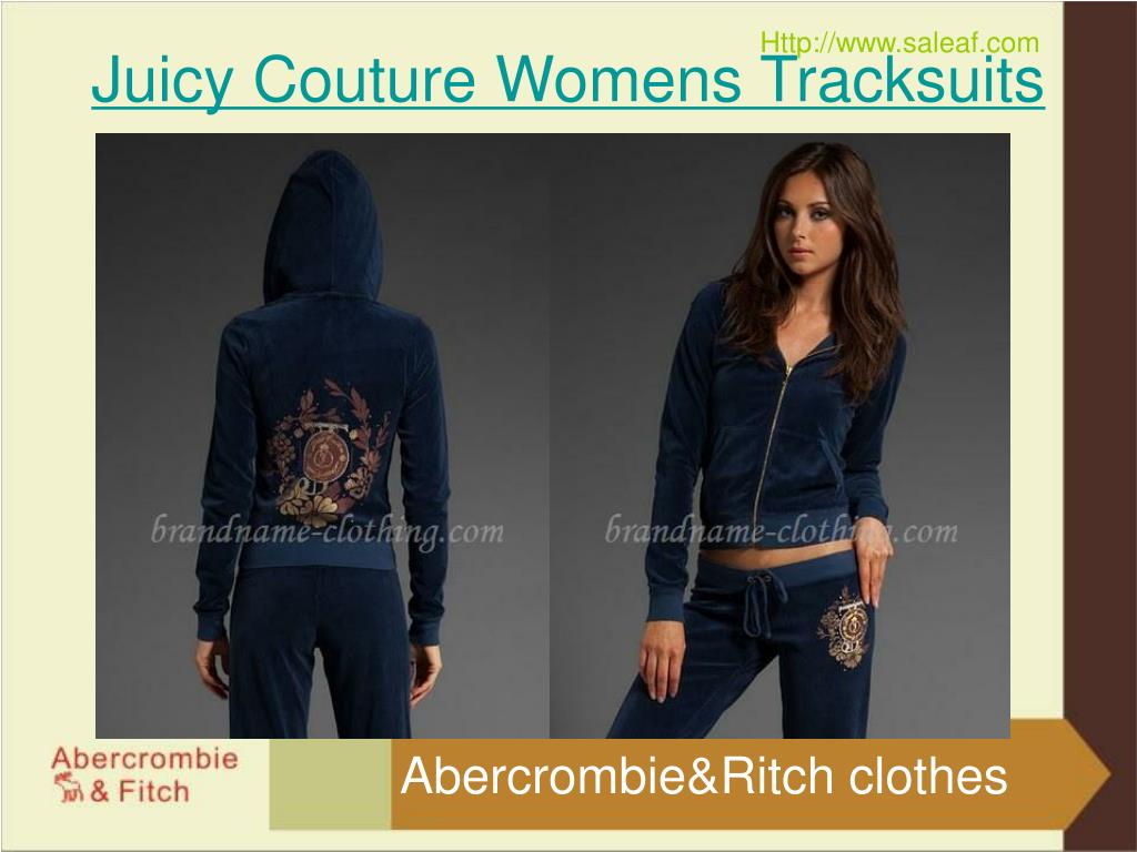 Juicy Couture Womens Tracksuits