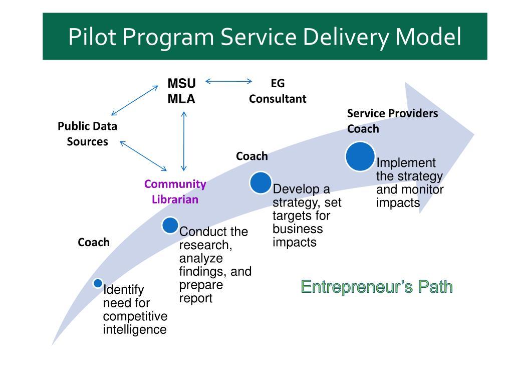 Pilot Program Service Delivery Model