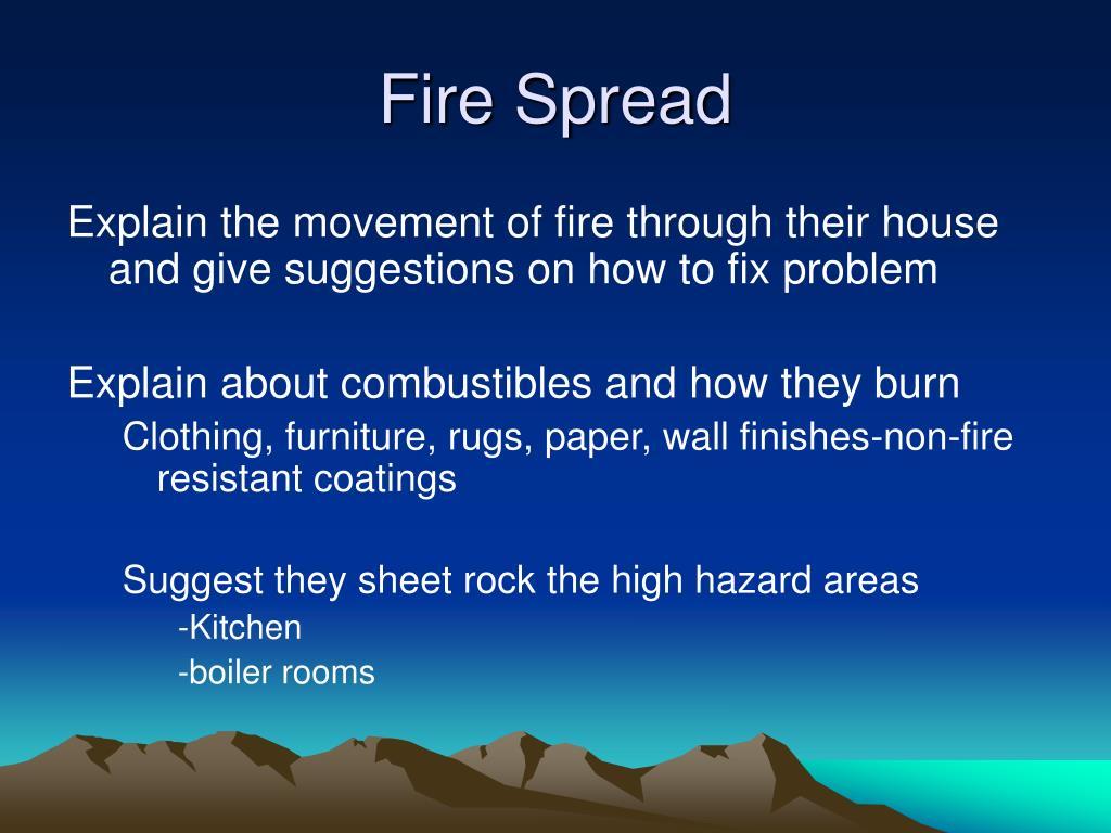 Fire Spread