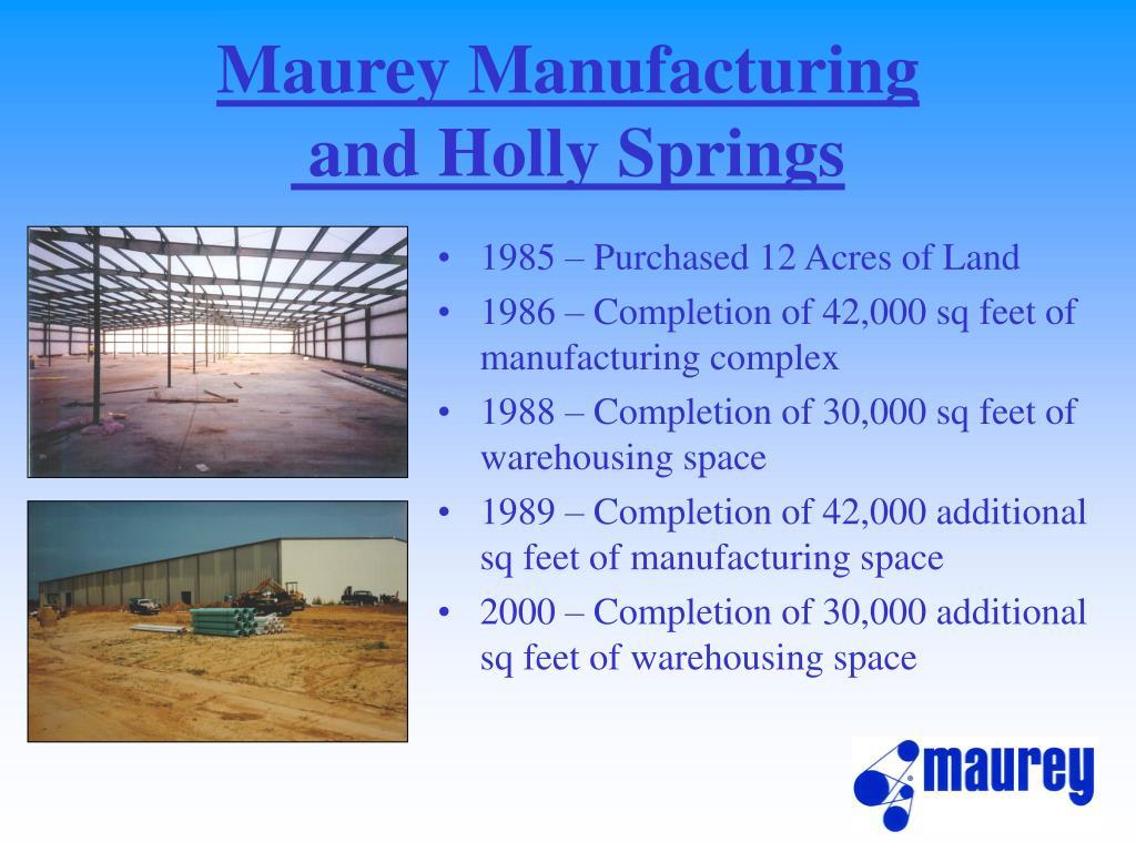 Maurey Manufacturing