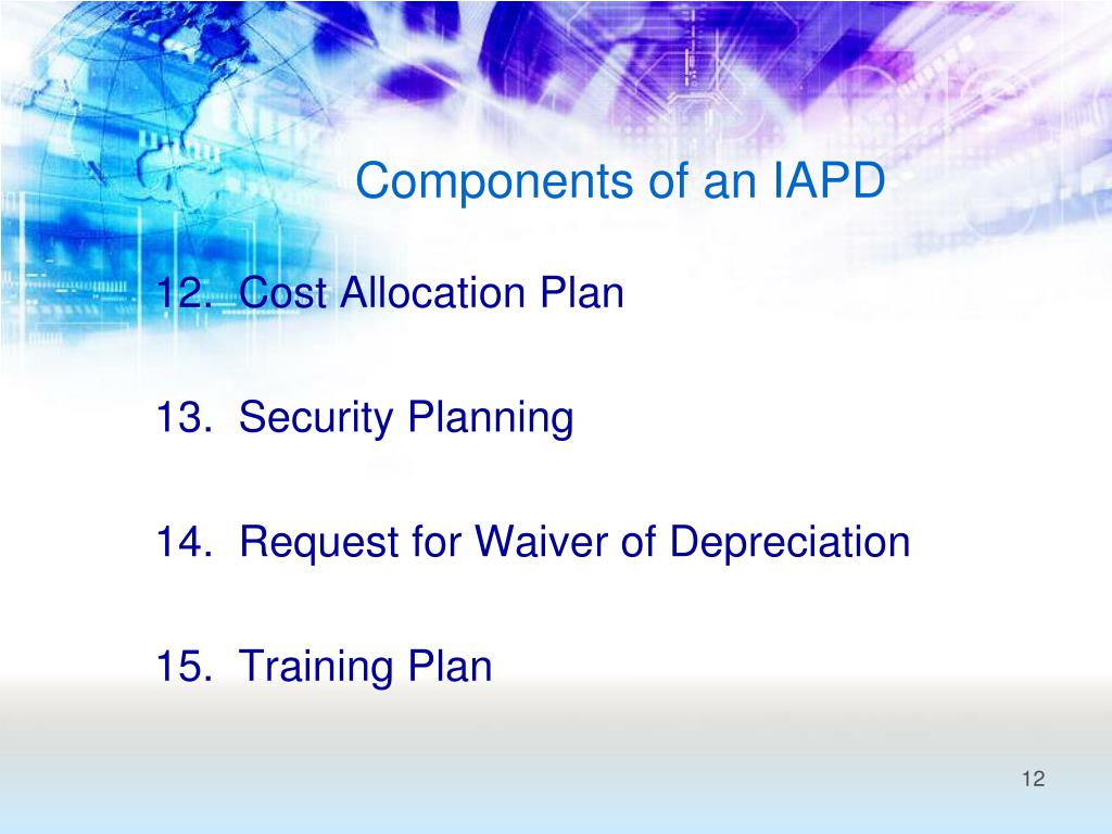 Components of an IAPD