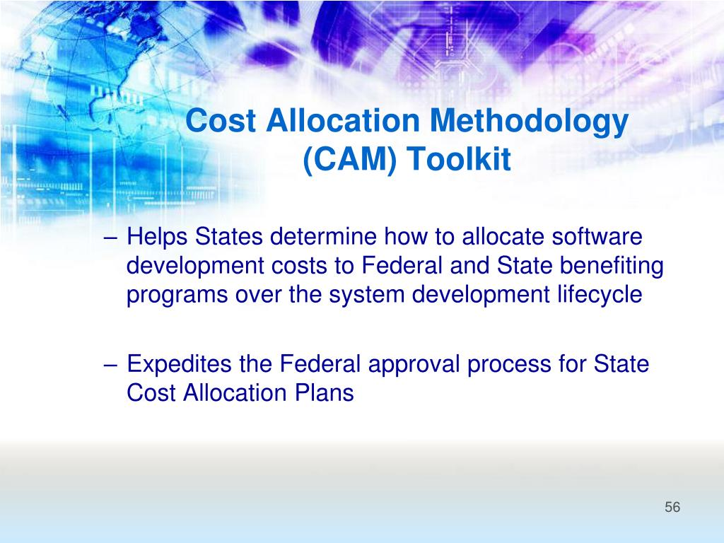 Cost Allocation Methodology (CAM) Toolkit