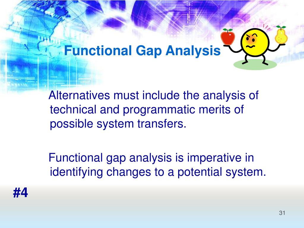 Functional Gap Analysis