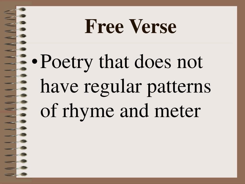 Free Verse