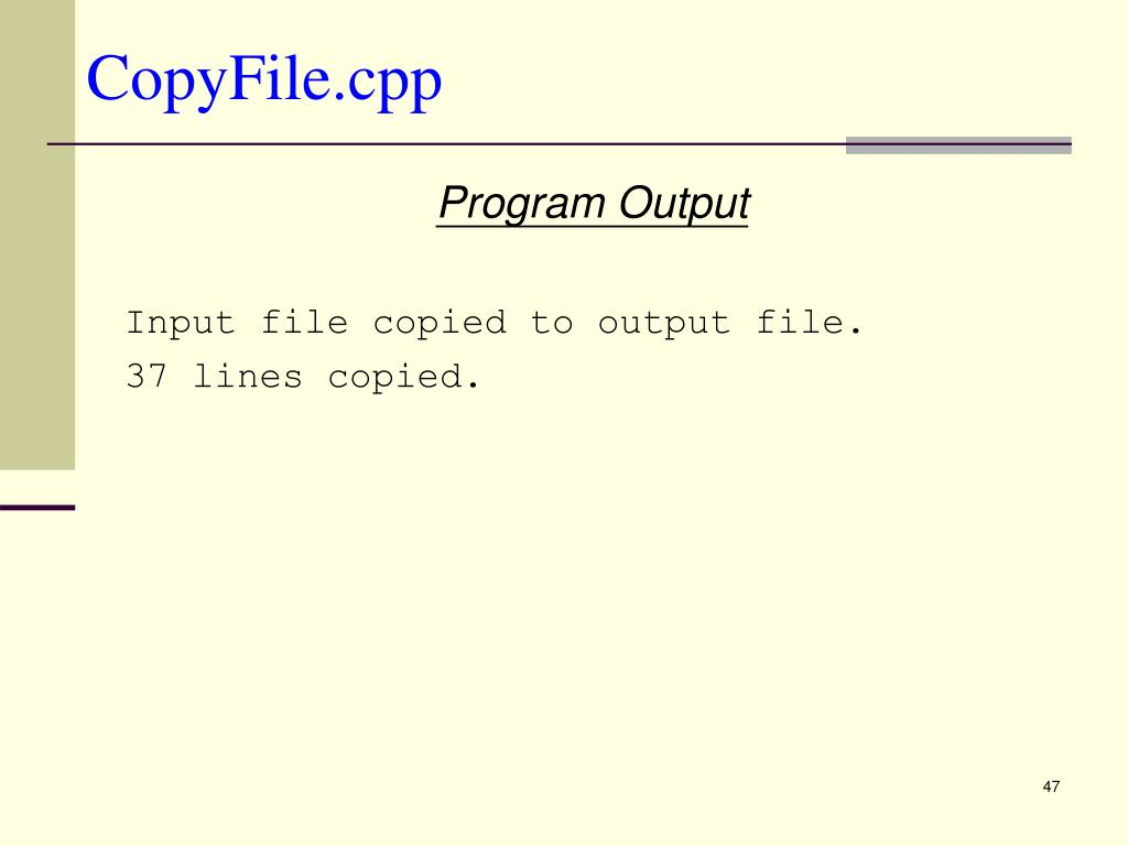 CopyFile.cpp