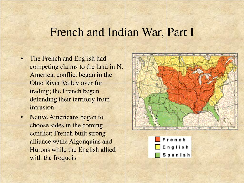 French and Indian War, Part I