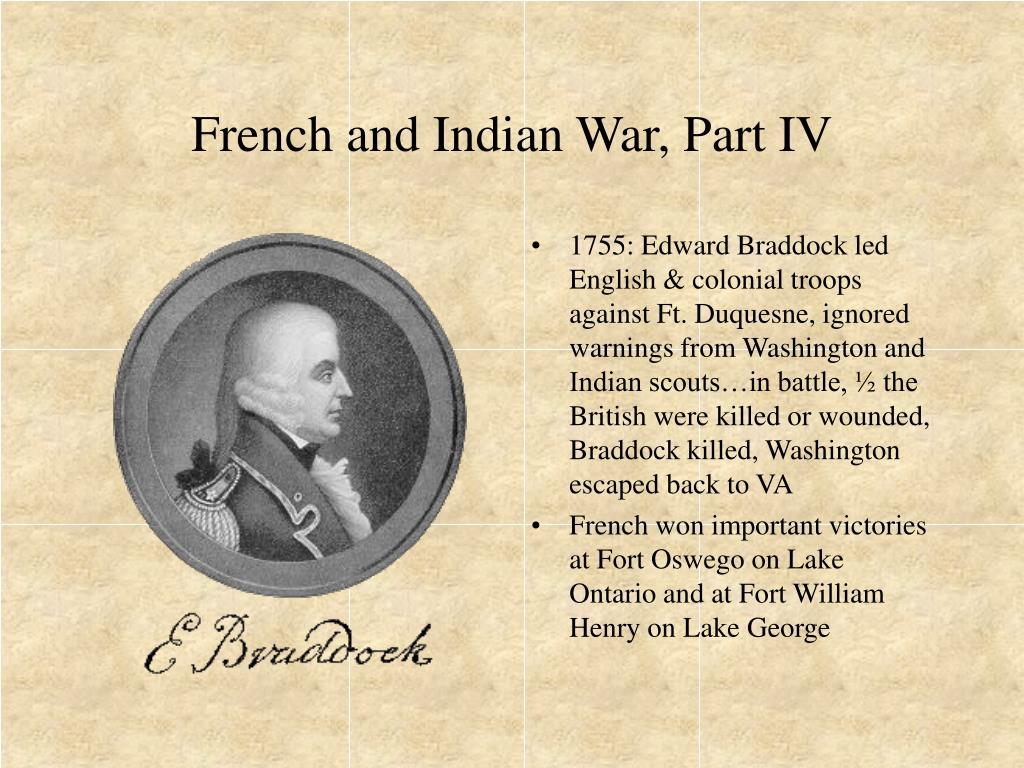 French and Indian War, Part IV