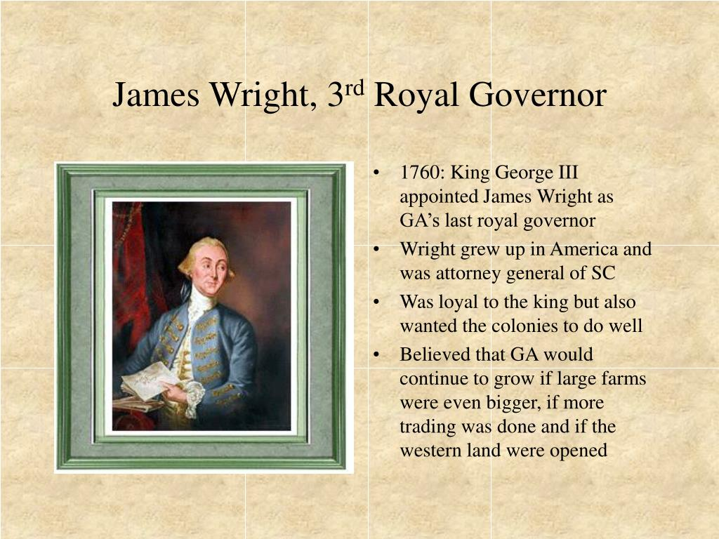 James Wright, 3