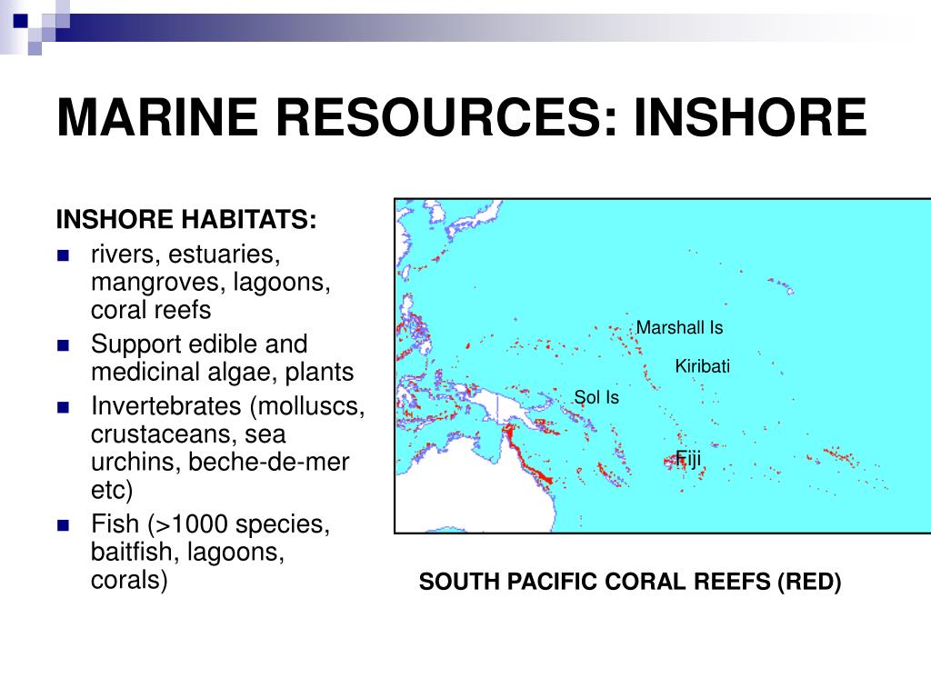 MARINE RESOURCES: INSHORE