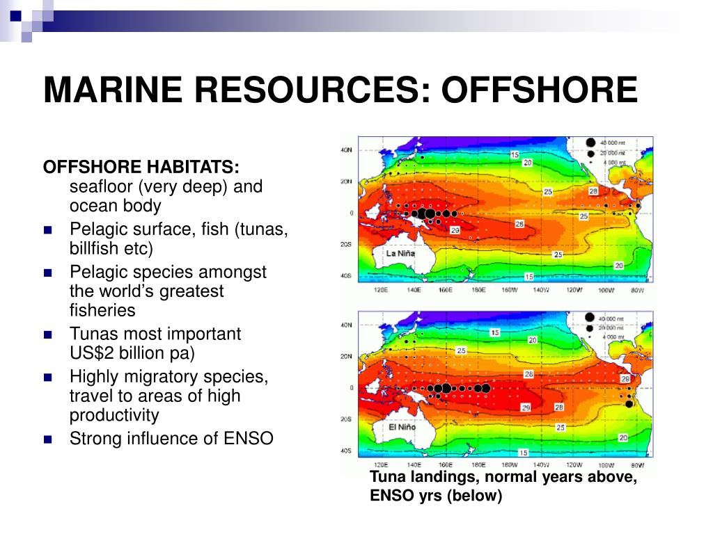 MARINE RESOURCES: OFFSHORE