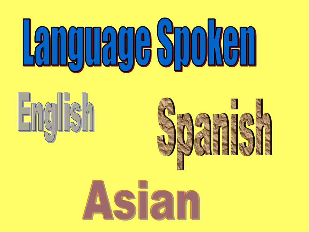 Language Spoken